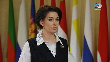 М. Павлова осоциальном блоке законопроектов Комитета СФ посоциальной политике