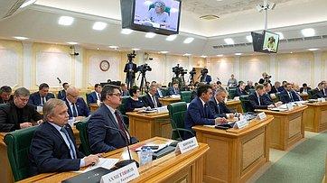«Открытый диалог» сенаторов сМинистром транспорта РФ Е.Дитрихом. Запись трансляции от22ноября 2018года
