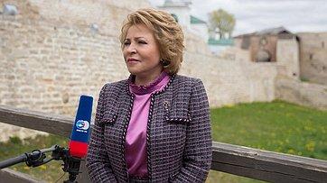 В. Матвиенко поздравила музейных работников спрофессиональным праздником