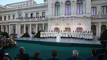 Председатель Совета Федерации выступила наторжественном открытии XII Международного фестиваля «Великое русское слово»