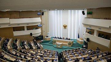 Выступление В. Матвиенко наторжественном заседании Совета Федерации, посвященном 25-летию палаты
