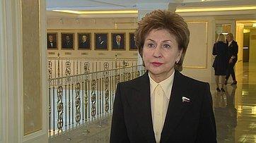 Комментарий Галины Кареловой поитогам встречи Президента РФ ссенаторами