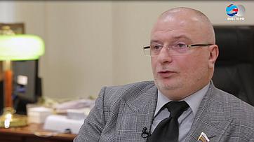 А.Клишас озаконе обезопасном интернете натерритории России