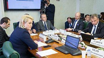 Заседание Комитета СФ поэкономической политике. Запись трансляции от22июля 2019года