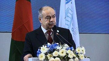 Выступление И.Умаханова на136-й Ассамблее Межпарламентского союза