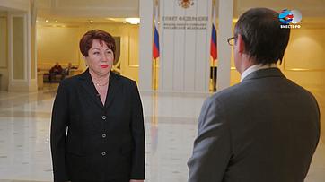 Елена Перминова оПослании Президента РФ Федеральному Собранию