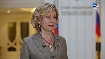 Инна Святенко оПослании Президента РФ Федеральному Собранию