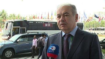 И. Умаханов оработе 136-й Ассамблеи Межпарламентского союза