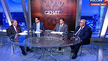 Антикризисные меры. Предложения регионов. Программа «Сенат» телеканала «Россия 24»