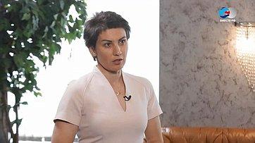 Т. Лебедева оVII Российско-Белорусском молодежном форуме