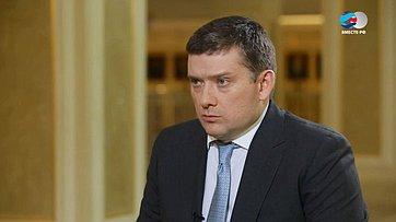 Н. Журавлев оцелях изадачах экономического блока Совета Федерации