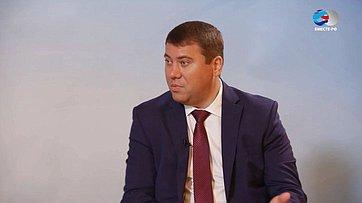 И. Абрамов оVI Форуме регионов России иБеларуси