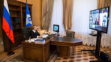 Выступление Валентины Матвиенко наСовете Межпарламентской Ассамблеи государств— участников СНГ