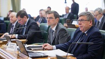 Расширенное заседание Комитета СФ побюджету ифинансовым рынкам. Запись трансляции от26февраля 2018г
