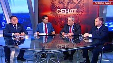 Перспективы развития авиационной отрасли России. Программа «Сенат» телеканала «Россия 24»
