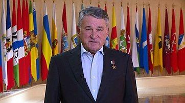 Заместитель Председателя СФ Ю. Воробьев поздравил кадетов Образовательного центра «Корабелы Прионежья» спринятием присяги