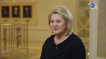 Л. Гумерова оходе работ над поправками вКонституцию РФ