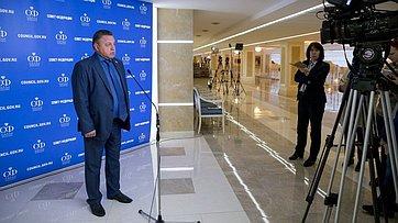 В.Тимченко орезультатах проверки сведений оналичии усенаторов двойного гражданства или вида нажительство