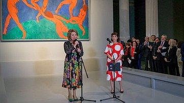 Председатель СФ приняла участие ввернисаже выставки «Щукин. Биография коллекции»