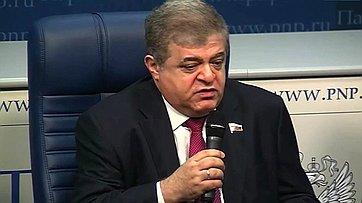 В. Джабаров принял участие в работе круглого стола «Ситуация на юго-востоке Украины: Что мешает реализации минских договоренностей?»