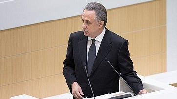 Врамках «Правительственного часа» вСФ выступил вице-премьер В.Мутко