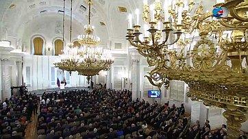 ВСовете Федерации восприняли Послание Президента РФ как план действий