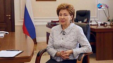 Г. Карелова оВтором Евразийском женском форуме
