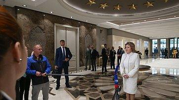 Брифинг В.Матвиенко поитогам визита вТурцию