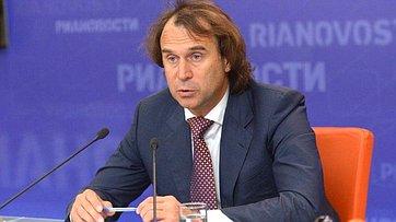Сергей Лисовский провел пресс - конференцию по итогам IV Межпарламентского форума «Россия – Таджикистан» в пресс-центре МИА «Россия сегодня»