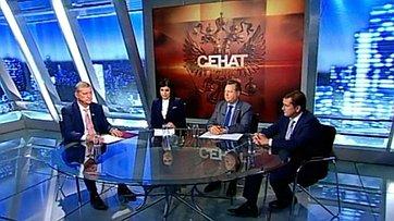 Проблемы рыбохозяйственного комплекса. Программа «Сенат» телеканала «Россия 24»