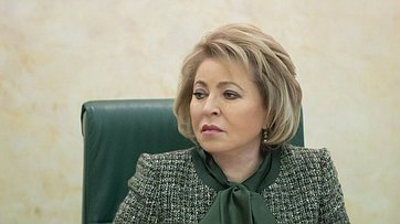 Выступление В.Матвиенко назаседании Оргкомитета III Форума социальных инноваций субъектов Российской Федерации