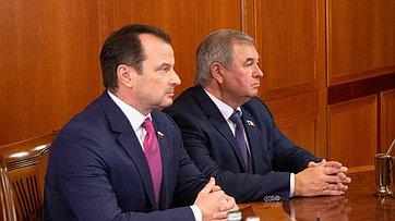 Встреча В.Матвиенко сруководителями исенаторами Удмуртской Республики