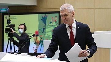 Выступление Министра спорта Российской Федерации Олега Матыцина на499-м заседании Совета Федерации