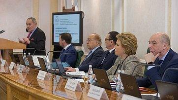 В. Матвиенко выступила назаседании Президиума Научно-экспертного совета