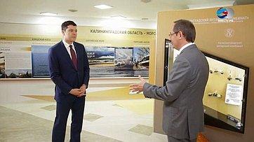 А. Алиханов опланах развития Калининградской области