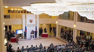 Выступление В. Матвиенко нацеремонии награждения детей иподростков, проявивших мужество вэкстремальных ситуациях испасших человеческие жизни