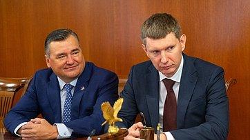 Встреча В. Матвиенко сруководством Пермского края