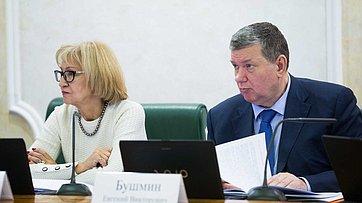 Заседание комитета Совета Федерации побюджету ифинансовым рынкам. Запись трансляции от27ноября 2017г