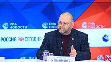 Онлайн-брифинг Андрея Климова иОлега Мельниченко