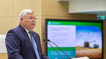 Выступление руководителей Томской области вСовете Федерации