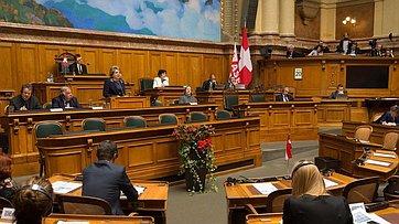 Выступление В. Матвиенко наXVII заседании Ассоциации европейских сенатов
