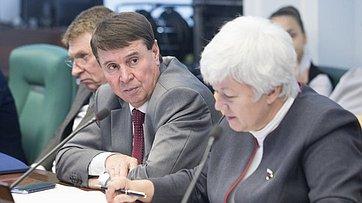 Заседание Комитета Совета Федерации помеждународным делам. Запись трансляции 7ноября 2017г