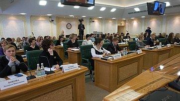 Выступление В.Матвиенко навстрече сженщинами-предпринимателями