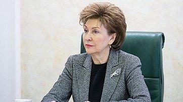 Г.Карелова на заседании Совета по вопросам жилищного строительства и содействия развитию ЖКХ