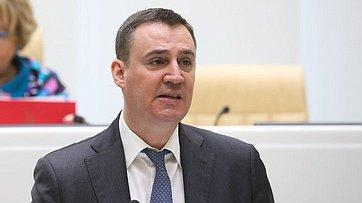 Выступление Министра сельского хозяйства РФ Дмитрия Патрушева на502-м заседании Совета Федерации