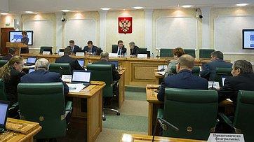 Расширенное заседание комитета СФ побюджету ифинансовым рынкам. Прямая трансляции от23 октября 2017г