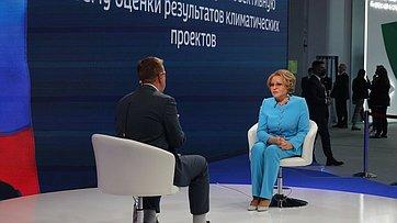 Интервью Валентины Матвиенко телеканалу «Россия 24»