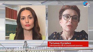 Т. Кусайко оснятии режима самоизоляции вМурманской области