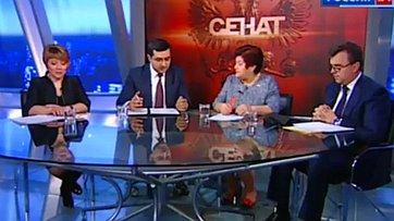 Цена лекарств. Программа «Сенат» телеканала «Россия 24»