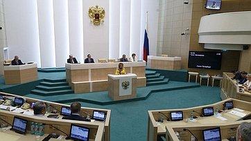 Председатель СФ подвела итоги работы палаты впериод весенней сессии 2016года